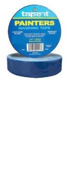 1.41in x 60yds Blue Painter's Masking Tape (Case of 24)