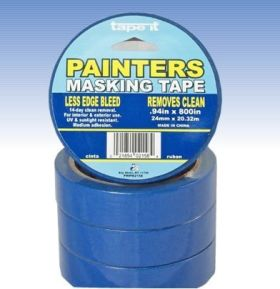 ".94in x 800"" Blue Painter's Masking Tape (Case of 48)"