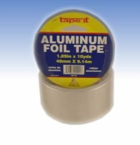 "1.89"" x 10yds Aluminum Foil Tape (Case of 36)"