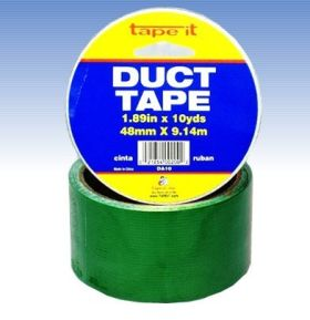 "1.89""x10yds Green Duct Tape (Case of 54)"