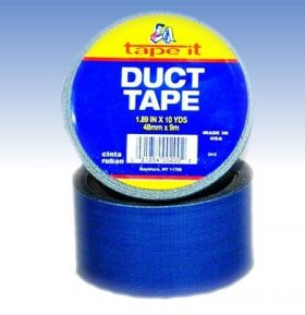 "1.89""x10yds Blue Duct Tape (Case of 54)"