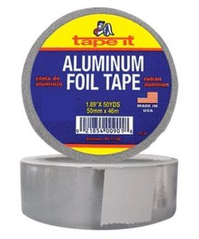 "1.89"" x 50yds Aluminum Foil Tape (Case of 24)"