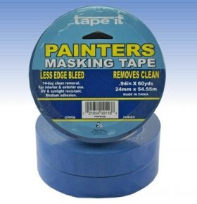 .94in x 60yds Blue Painter's Masking Tape  (Case of 36)