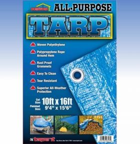 9ft x 12ft- All Purpose Tarp 75gsm  (Case of 20)
