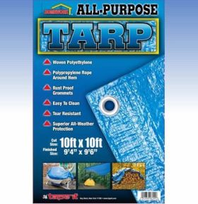 5ft x 7ft- All Purpose Tarp 75gsm (Case of 36)