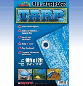 6ft x 8ft- All Purpose Tarp 75gsm (Case of 36)