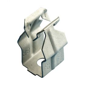 """Push In Conduit Clamp, 1/2"""" EMT, 9/32"""" Hole, Plain (Pack of 100)"""
