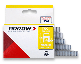 "T59 Arrow Staples 1/2"" (Pack of 300)"