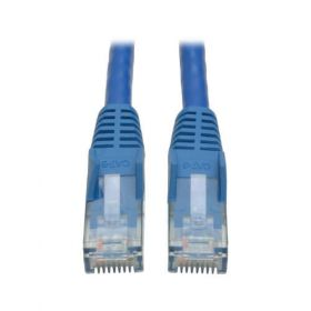 Cat6 Gigabit Snagless Molded Patch Cable (RJ45 M/M) - Blue, 10-ft.