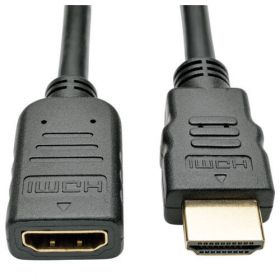 High-Speed HDMI Extension Cable with Ethernet and Digital Video with Audio, Ultra HD 4K x 2K (M/F), 6 ft.