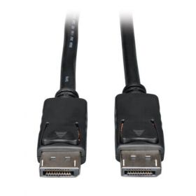 DisplayPort Cable with Latches (M/M), 4K x 2K 3840 x 2160 at 60Hz, 15-ft.