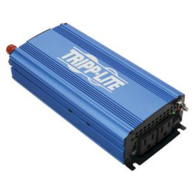 750W Light-Duty Compact Power Inverter with 2 AC/1 USB - 2.0A/Battery Cables, Mobile
