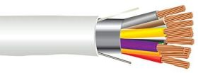 18 AWG, 12 Conductor, Plenum Rated, Stranded, Shielded Cable, 500ft Spool