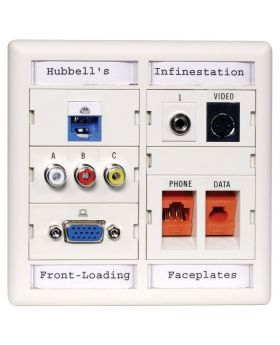 Hubbell Premise Wiring Products XPLFPA10C