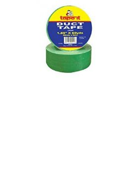 "1.89""x60yds Green Duct Tape (Case of 24)"