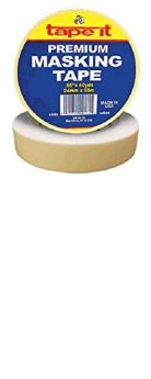 ".94"" x 60yds Premium Masking Tape (Case of 36)"