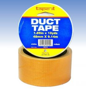 "1.89""x10yds Orange Duct Tape (Case of 54)"