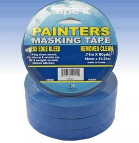 .71in x 60yds Blue Painter's Masking Tape (Case of 48)
