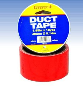 "1.89""x10yds Red Duct Tape (Case of 54)"