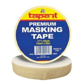 ".71"" x 60yds Premium Masking Tape (Case of 48)"
