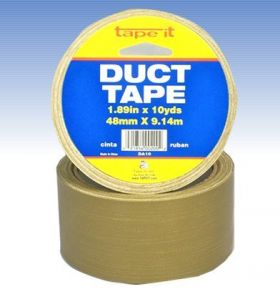 "1.89""x10yds Olive Duct Tape (Case of 54)"
