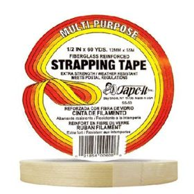 "1/2"" x 60yds Strapping Tape WL (Case of 72)"