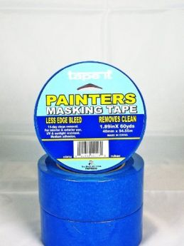 1.89in x 60yds Blue Painter's Masking Tape (Case of 24)