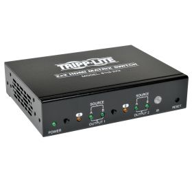 2x2 HDMI Matrix Switch for Video and Audio, 1920x1200 at 60Hz / 1080p (HDMI 2xF/2xF), TAA