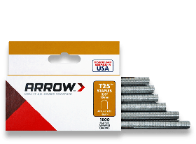 "T25 Arrow Staples 3/8"" (10mm) (Pack of 1000)"