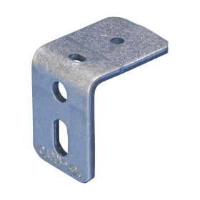 "Angle Bracket With Oblong Hole, 3/16"" Hole (Pack of 50)"