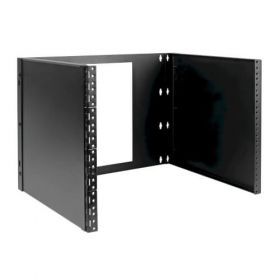 8U Wall-Mount Bracket for Small Switches and Patch Panels, Hinged