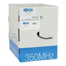 Cat5e 350MHz Bulk Solid-Core PVC Cable, 1000 FT, TAA