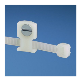 Cable Tie Mounts - Screw Applied (Package of 100)